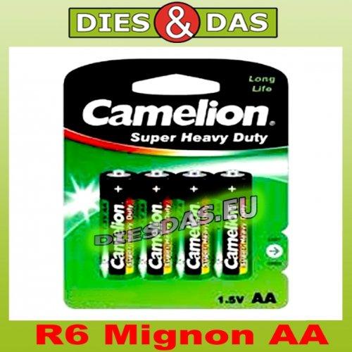 Batterie Camelion R06 Mignon AA (4 St.)