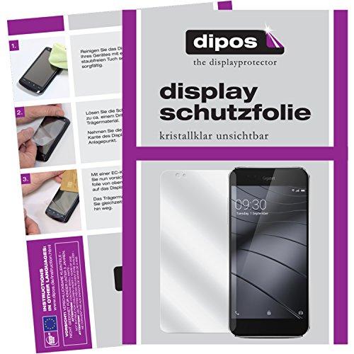 dipos I 2X Schutzfolie klar passend für Gigaset ME Pure Folie Bildschirmschutzfolie