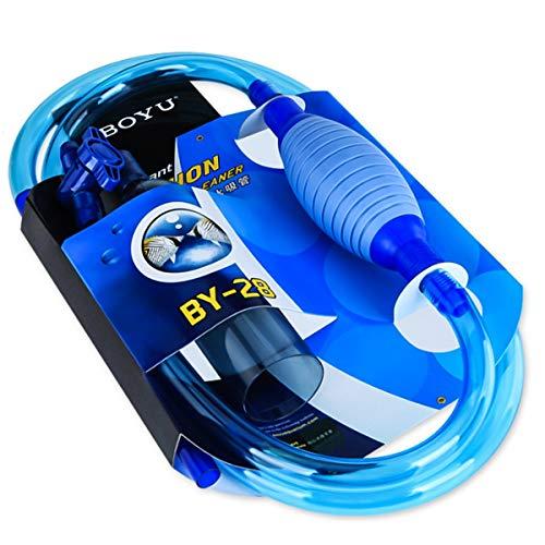 Nosii Instant Siphon Cleaner für kleine/große Aquarium Staubsauger für Kies und Sand