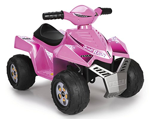 FEBER Quad Racy, 6 V, Pink Color, (Famous 800011422)