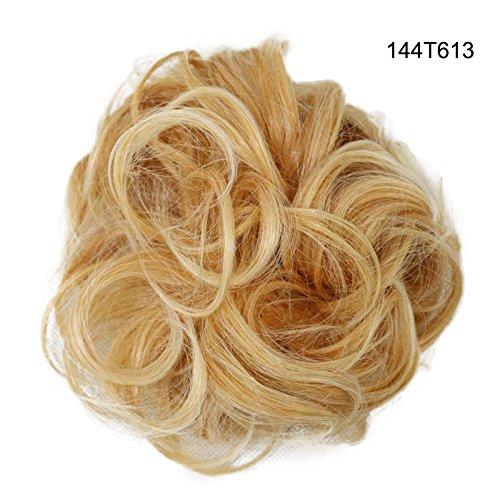 Majome Haarteil Frauen Perücke Lady Short Curls Lockiges Haar Ring Chemical Fiber Party Cosplay Charme Kopfbedeckungen Perücke Wig