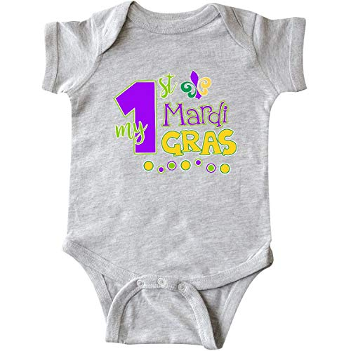 Huahai My 1st Mardi Gras with Dots Infant Creeper - 1. Christmas Infant Creeper