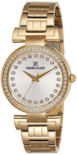 Daniel Klein Analog Silver Dial Women's Watch - DK11089-1 image
