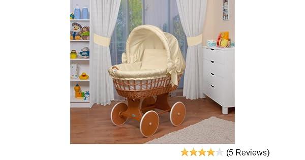 Waldin stubenwagen bollerwagen xxl 2 farben wählbar: amazon.de: baby