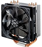 "Cooler Master RR-212E-16PK-R1 Hyper 212 Evo ""Ultra High Performance, 4 Direct Contact Heat Pipes, Universal CPU Cooler"" Black Fan"