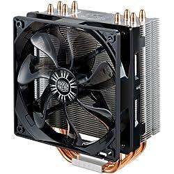 Cooler Master Hyper 212 EVO - Ventiladores de CPU '4 Heatpipes, 1x Ventilador PWM de 120mm, 4-Pin Connector' RR-212E-16PK-R1