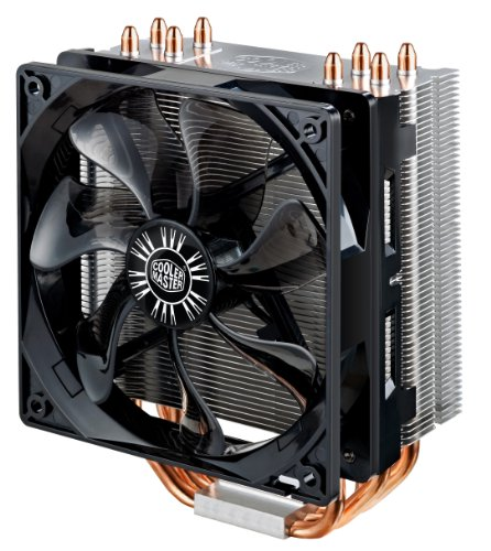 "Cooler Master Hyper 212 Evo Air CPU Cooler ""RR-212E-16PK-R1, 4 x Heatpipe, 1x 120mm PWM Fan, Intel/AMD"" Test"