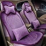 GAOFEI Coprisedili Copertura Protezioni traspirante universale adatto a 5 sedili , purple