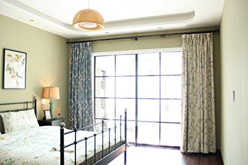 Verdicken verdunklungsvorhänge,Wohnzimmer schlafzimmer chenille gardinen 52