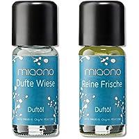 Duftöle von miaono - Wunderbare Welt der Düfte - Aromaöle für himmlichen Raumduft (Dufte Wiese-Reine Frische,... preisvergleich bei billige-tabletten.eu