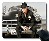 Custom Pop Musik Star Mauspad mit Mike Patton Auto Hat Anzug Bridge rutschfestem Neopren Gummi Größe Desktop Mauspad Laptop Mousepads Komfortable Mauspad Standard von Windy City Zubehör