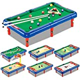 Montez 6 In 1 Game Pool Hockey Basketball Golf Table Indoor Children Toy Gift Set Top Board Game