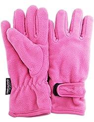 FLOSO® Mädchen Thinsulate Fleece Thermo-Handschuhe