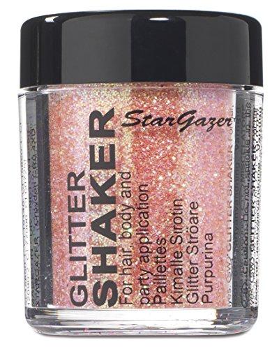 Stargazer Products Glitzer Streudose, pastel rosé, 1er Pack (1 x 5 g) Gold Salt Shaker