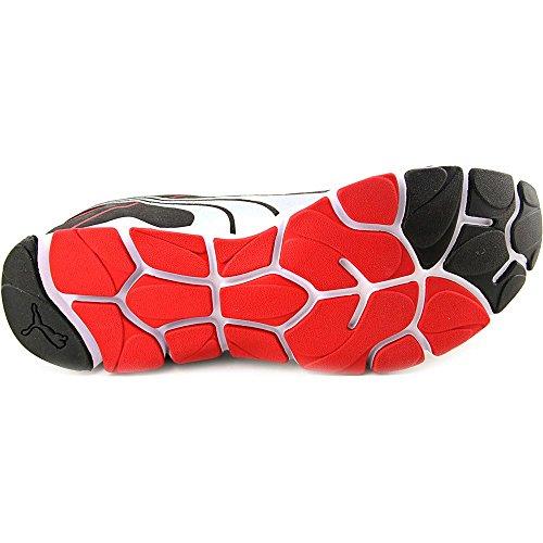 Puma Shintai Runner MP Toile Chaussure de Course High Risk Red-Black-Silver