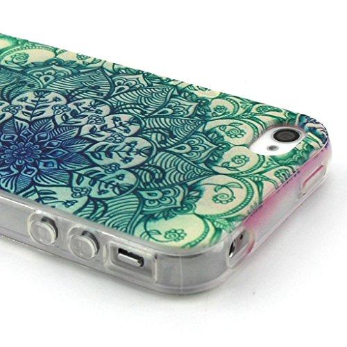 Fenrad® TPU Gel Silicone Protettivo Skin Custodia Per Apple iPhone 4G 4S - Stilosa Custodia di Design in Morbido TPU Protettiva Shell Case Cover - Stile 5 Stile 5
