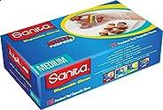 سانيتا قفازات ، مقاس وسط - 100 قطعة