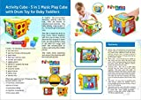 Best Toys For 10 Month Olds - Activity Cube 5 - in -1 Music Play Review