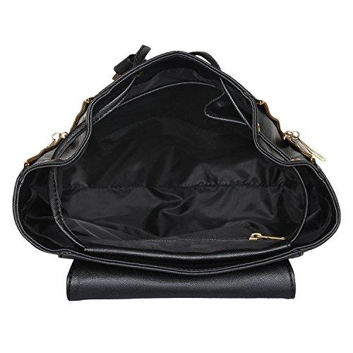 Glory Fashion Pu Cadence School/College Casual Backpack Handbag For Girls