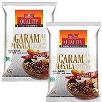Quality Spices Garam Masala Powder 50 Grams (Pack of 2)