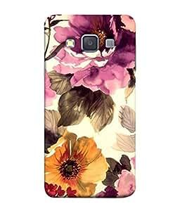 PrintVisa Designer Back Case Cover for Samsung Galaxy A3 (2015) :: Samsung Galaxy A3 Duos (2015) :: Samsung Galaxy A3 A300F A300Fu A300F/Ds A300G/Ds A300H/Ds A300M/Ds (Painted animated design flowers nature)