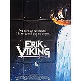 Erik Póster de la película El Vikingo 47x 63en.–1989–Terry Jones, Tim Robbins