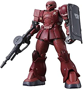 Bandai Hobby BAN216379 Gundam HG 1/144#15 MS-05 Zaku I Char Aznable Battle of Mare Smythii The Origin Model Kit, Multicolor, 8 Pulgadas