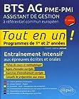 BTS AG PME-PMI Assistant de gestion à référentiel européen - 2e édition