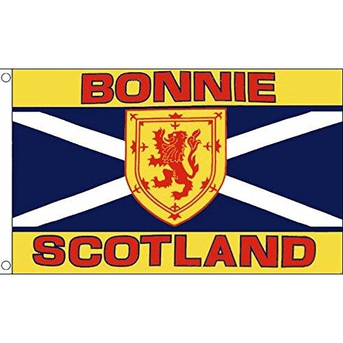 AZ FLAG Flagge SCHOTTLAND Bonnie Scotland 150x90cm - Schottische Fahne 90 x 150 cm - flaggen Top Qualität