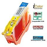 iColor Druckerpatronen: Patrone für CANON (ersetzt CLI-8Y), mit CHIP yellow (Tintenpatronen)