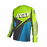 Uglyfrog 2018 Herren Jersey Motocross Mountain Bike Downhill Sports Wear Atmungsaktiv Shirt Sommer&Frühling Style