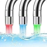 AOTUO LED Wasserhahn Glow Küchenarmatur Temperatursensor Licht Wasserhahn Für Küche Badezimmer