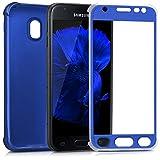 kwmobile Samsung Galaxy J3 (2017) DUOS Handyhülle - Hülle für Samsung Galaxy J3 (2017) DUOS Handy Case Cover Silikon Schutzhülle