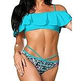 UFACE Bikini Badebekleidung Push up Bikinis online bademode Sale Bandeau Triangle Micro Badeanzug Damen Bottom Shop Shorts Crop top pink