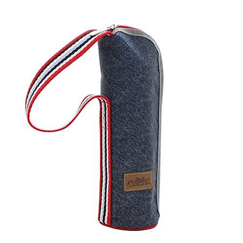 HYSENM Isoliertasche für Flasche Wärmehaltung mit Reißverschluss Flaschentasche Thermotasche, A2