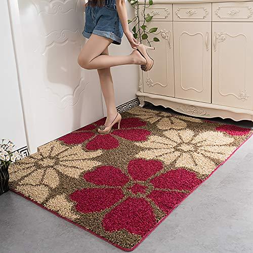 AWLLY Designer Teppich Modern Mit Kontur Zottelig Dick Teppich Hoch Haufen Lange Haufen Weich Haufen Anti Verschütten Teppiche,AD5,120X140CM -