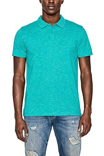 ESPRIT Herren Poloshirt Blau (Teal Blue 2 456)