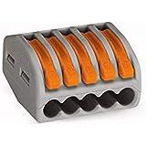 Wago - 222-415- Boîte de 40 Bornes - 5 x 0,08-4 mm²