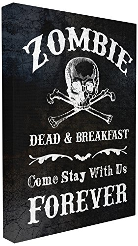 The Stupell Home Décor Collection Zombie Bed and -