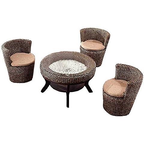 Natural bambú - rota mimbre de sofá set / sofá suite / sofá conjunto/ sofá cama / sofá de la esquina / plazas / silla / mesa de centro / mesa de té / tabla de té / mesa auxiliar / tabla de extreme