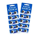 20 HEXBUG-Compatible Batteries - Alkaline Cell - LR44 - AG13, Model: , Toys & Gaems
