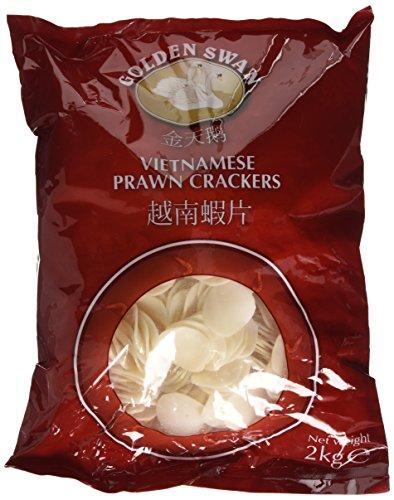Golden Swan Vietnamese Prawn Cracker 2 Kg (Pack of 2)