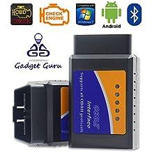 GadgetGuru ELM327 Bluetooth OBD II Universal Vehicle Diagnostic Tool