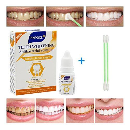 Zahnaufhellung Flüssigkeit, Bleaching, Zahnweiss, Zähne Aufhellen, Wirksam gegen Gelbe Zähne,10ml