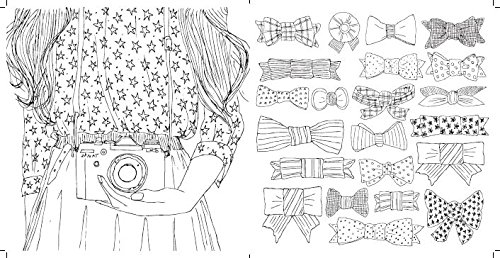 Parisian Street Style The Adult Colouring Book At Shop Ireland