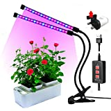 Led grow lights for indoor plants,RINBO 12W Plant grow lights, 36LEDs Artificial Dual
