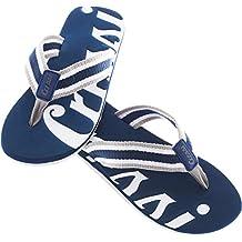 Cressi Portofino, Chanclas Flip Flops, Hombre, Azul / Blanco (Blau/Weiß), 44 EU