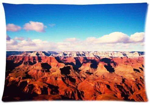 Magnifique Motif grand canyon Taie d'oreiller Housse en microfibre – Taille standard 50,8 x 76,2 cm (One Side)