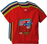 #5: KGB Multicoloured Cotton t Shirts for Boys Pack of 5