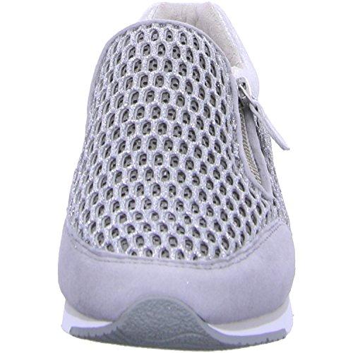 Gabor Fashion, Sneakers Basses Femme Blanc (ice/stone 61)
